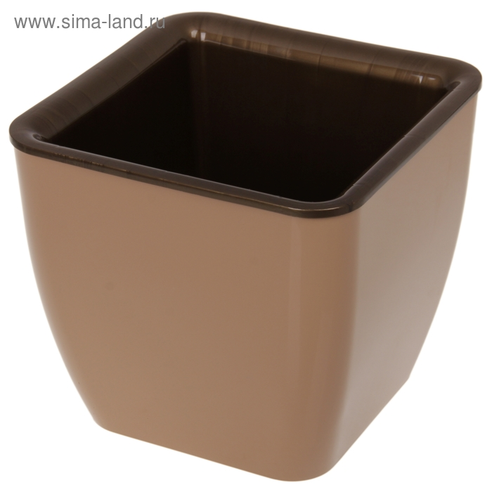 Горшок для цветов 8 л Les Couleurs, цвет коричневый/бронзовый