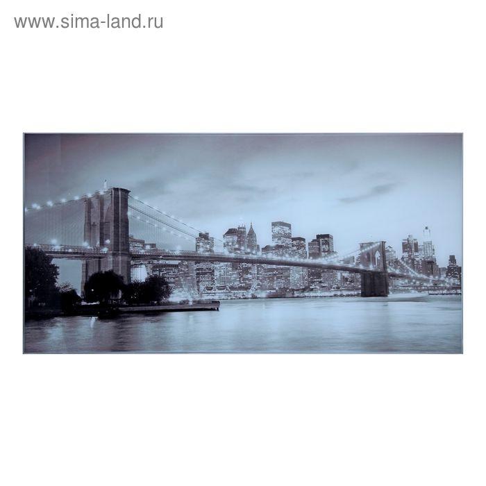 "Картина на стекле ""Мост"""