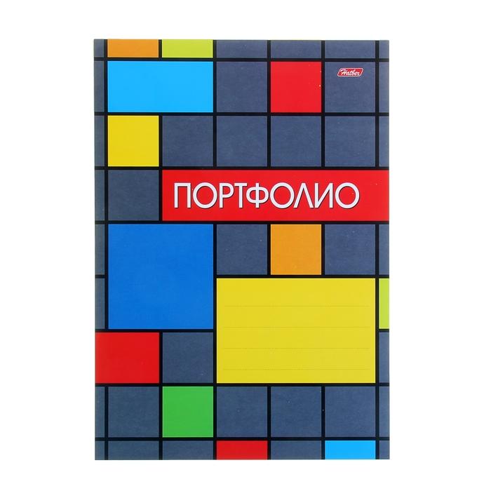"""Набор вкладышей для портфолио """"Яркая графика"""", для учеников 1-11 классов, А4, 16 листов, картон, в пакете с европодвесом"""