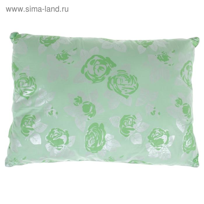 """Подушка с двойным чехлом и бамбуковым волокном """"ЛЕТО-ОСЕНЬ"""", размер 50х70 см, лузга гречихи"""