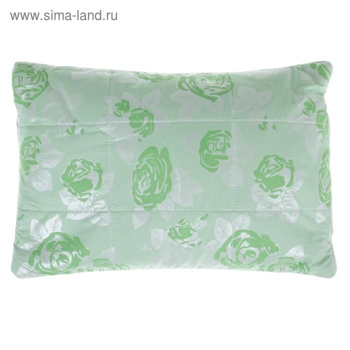 Подушка стеганная Cаmellia с верблюжьей шерстью, размер 40х60 см, лузга гречихи