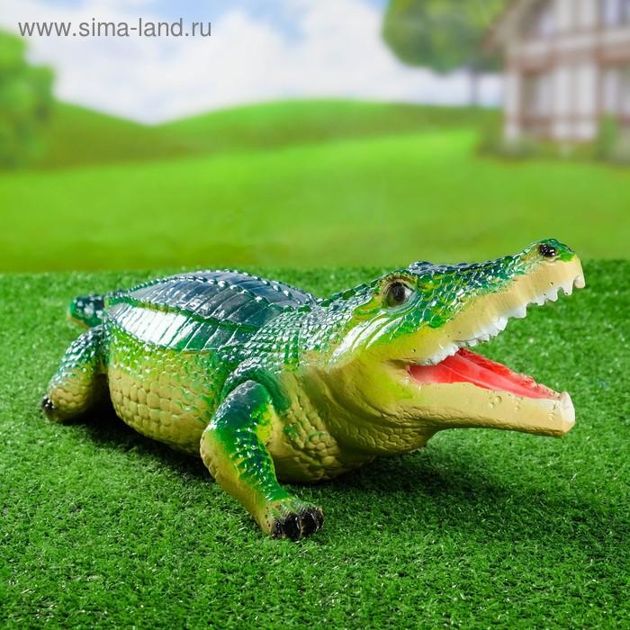 "Садовая фигура ""Аллигатор"""