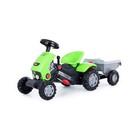 Педальная машина для детей «Turbo-2», с полуприцепом - фото 1602180