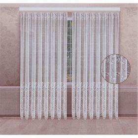 A set of curtains 210x250 cm, 100% polyethylene, curtain tape.