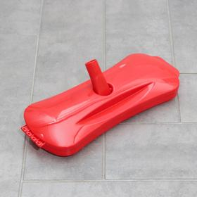 Щётка роликовая для чистки ковровых покрытий, 6 роликов, цвет МИКС