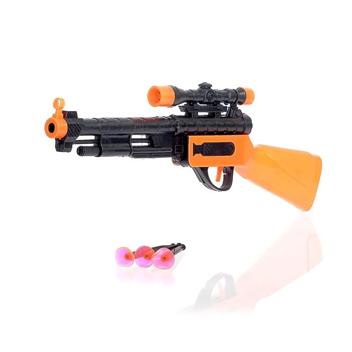 Ружье «Снайпер», 3 присоски, цвета МИКС