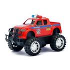 Джип инерционный «Полицейский патруль», МИКС - фото 106537472
