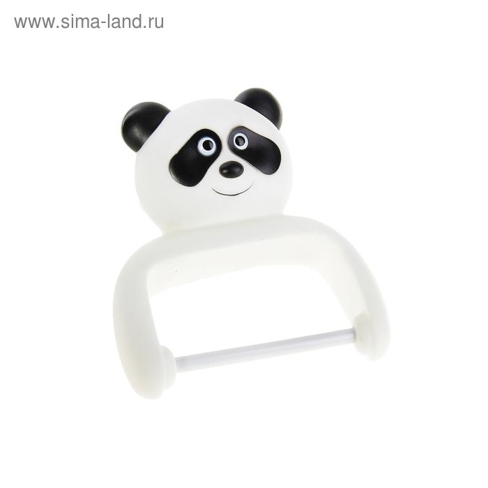 """Держатель для туалетной бумаги """"Панда"""", на присосках"""