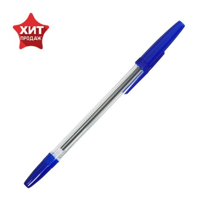 """Ручка шариковая """"Стамм"""", """"Офис"""", узел 0.7-1.0 мм, чернила синие на масляной основе, стержень 133-135 мм"""