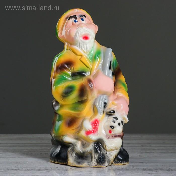 """Копилка """"Охотник с собакой"""""""