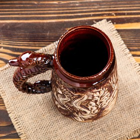 "Кружка для пива ""Конёк"", 0.7 л - фото 1398862"