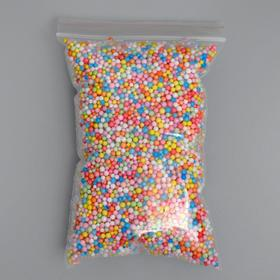 Наполнитель декоративный, 'Волшебные шарики' разноцветные, 1-3мм, 3гр Ош