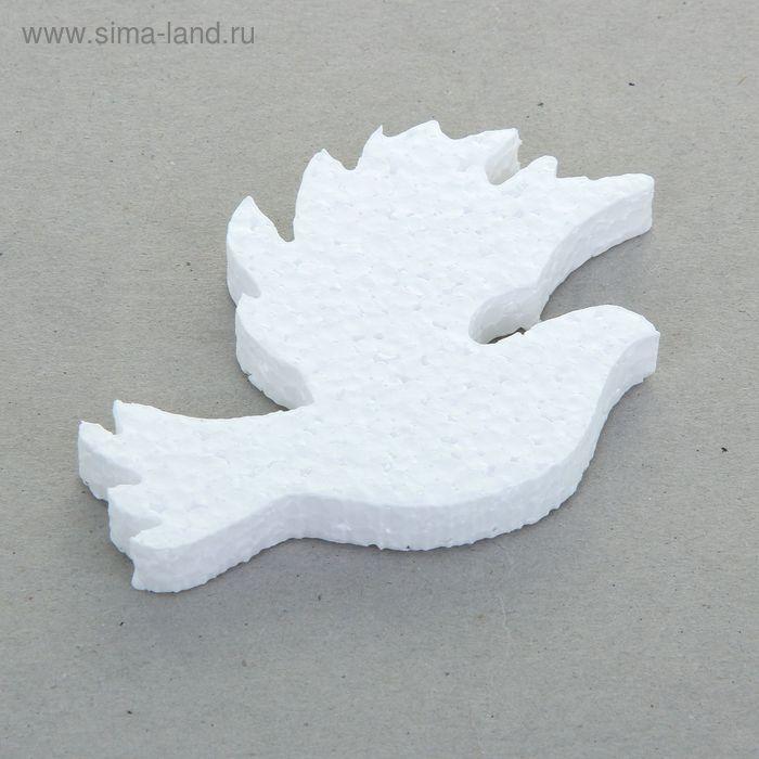 """Заготовка из пенопласта """"Пара голубей"""", 9 х 1 cм, набор 10 штук"""