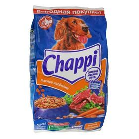 """Сухой корм Chappi """"Мясное изобилие"""" для собак, 2,5 кг"""