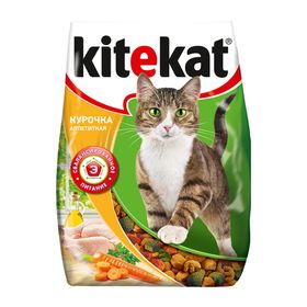 """Сухой корм KiteKat """"Аппетитная курочка"""" для кошек, 350 г"""