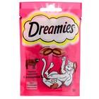 Лакомство Dreamies для кошек, с говядиной, 30 г