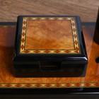 Набор настольный 7в1 (блок д/бумаг,часы с подстав,визитница, лого,нож-лупа-ручка) 20х49х22 см - фото 871222