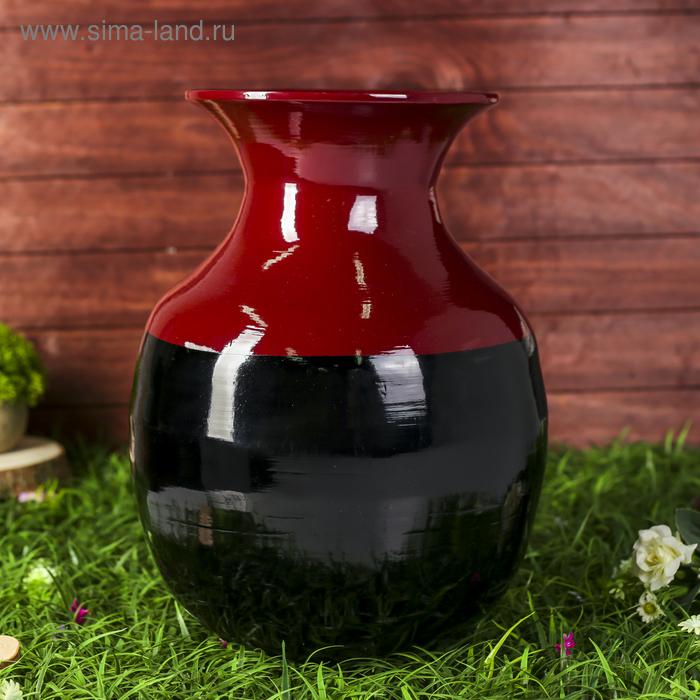 """Ваза """"Черный жемчуг"""", 45 см"""