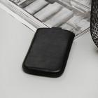 Чехол Time для телефона, с ремешком, размер 1, цвет чёрный