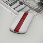 Чехол Time для телефона, размер 6, цвет белый/красный