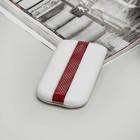 Чехол Time для телефона Nokia, с ремешком, цвет белый/красный