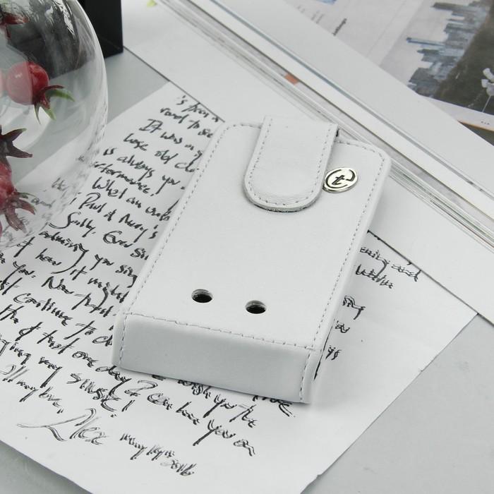 Чехол раскладной Time для телефона, универсальный, цвет белый