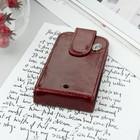 Чехол раскладной Time для телефона, универсальный, цвет бордовый