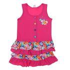 """Сарафан для девочки """"Цветочное настроение"""", рост 104 см (56), цвет розовый"""