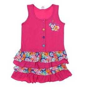 """Сарафан для девочки """"Цветочное настроение"""", рост 104 см (56), цвет розовый CSK 61111_Д"""