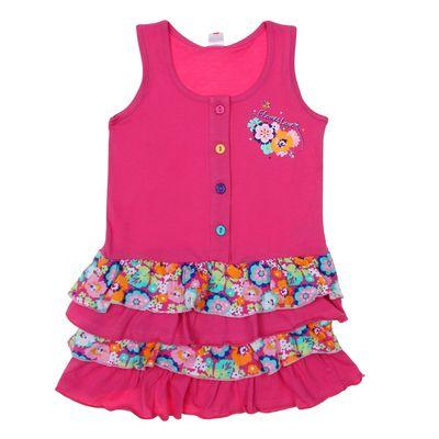 """Сарафан для девочки """"Цветочное настроение"""", рост 92 см (52), цвет розовый"""