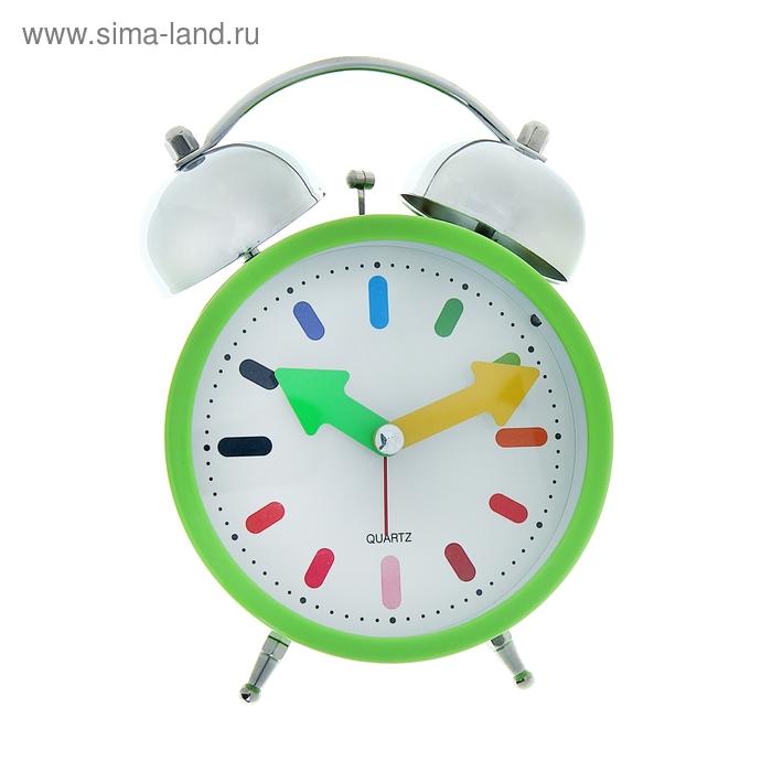 """Будильник """"Ассорти"""", цвет зеленый"""