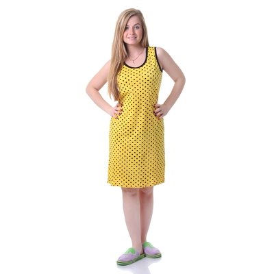 Сарафан женский 30586, цвет жёлтый, р-р 54