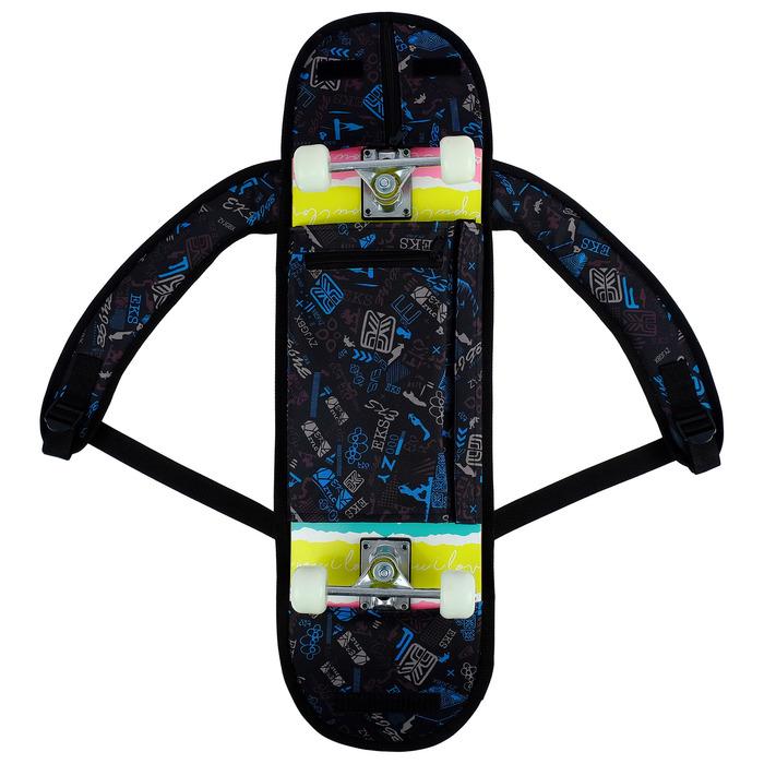 Сумка для скейтборда, 80х24 см, цвета микс