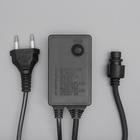 Контроллер уличный для гирлянд УМС, до 1000 LED, Н.Т. 3W, 8 режимов