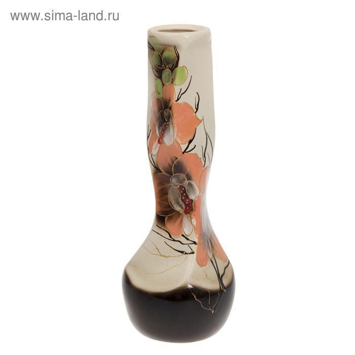 """Ваза """"Самбука"""" орхидея, золото"""