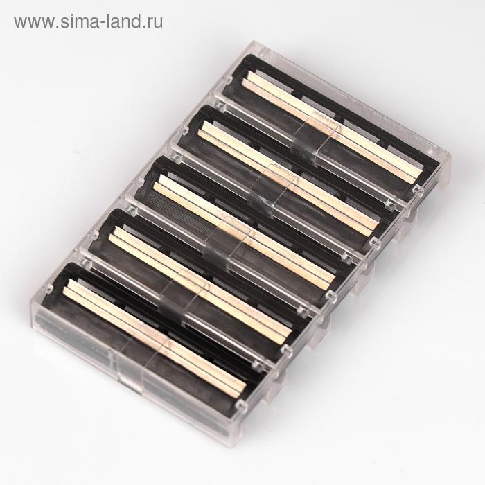 Набор сменных кассет Breeze с 2 лезвиями для бритвы, 5 шт