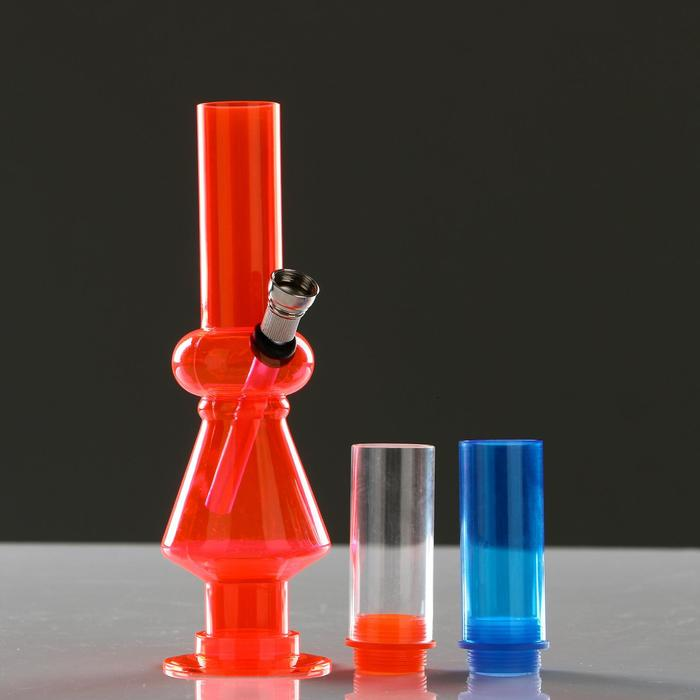 """Бонг """"Фантазия"""", 35 см, 2 съёмных уровня с трубкой, микс"""