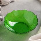 Салатник 400 мл Glory, цвет зелёный