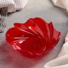 """Салатник 400 мл """"Акри"""", цвет красный"""