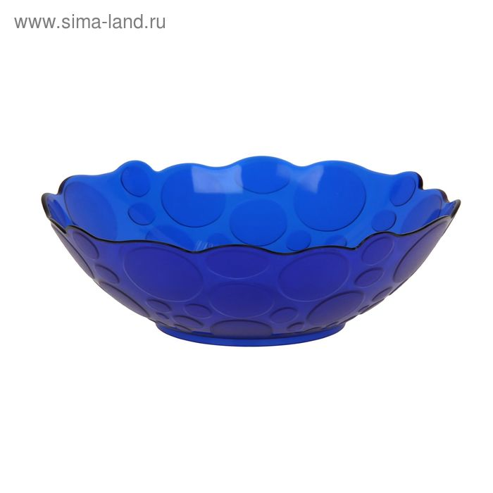 Салатник 400 мл Glory, цвет синий