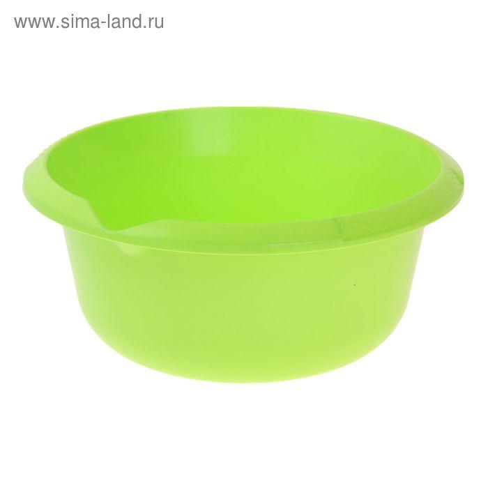 Миска 5 л, цвет салатный