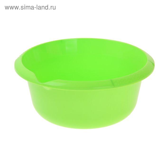 Миска 2,5 л, цвет салатный