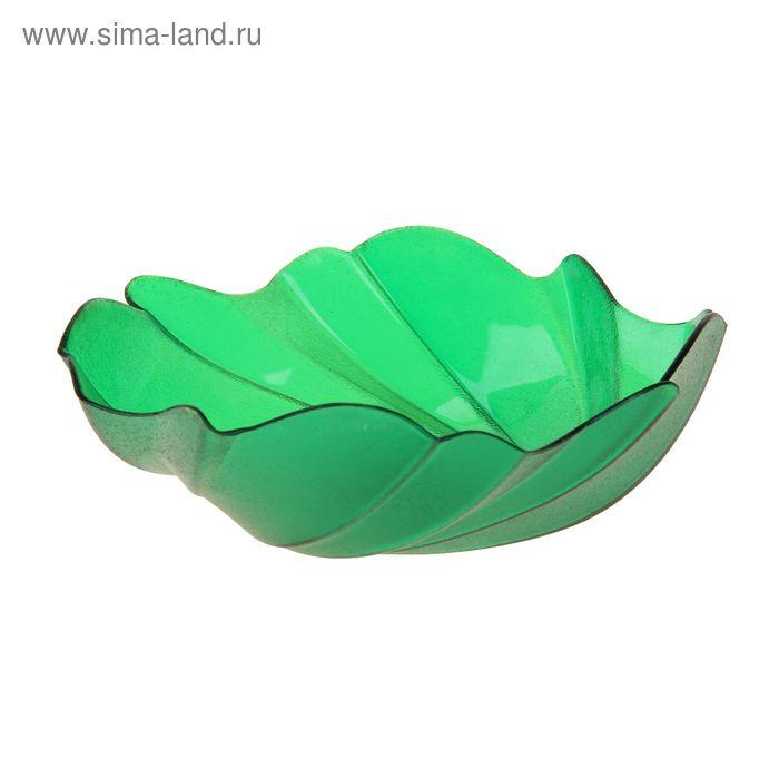 """Салатник 400 мл """"Акри"""", цвет зеленый"""