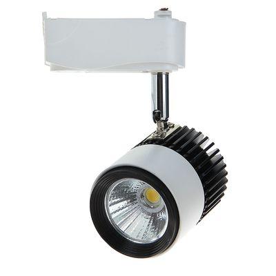 Трековый светильник LED, 9 W, 720 Lm, 4000 K, дневной свет, SL-902WB, корпус БЕЛО-ЧЕРНЫЙ 104185