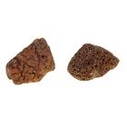"""Камень натуральный """"Лава коричневая"""" для декора, UDeco Brown Lava XS, размер 5-15 см, 1 шт"""