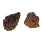 """Камень натуральный """"Лава коричневая"""" для декора, UDeco Brown Lava M, размер 15-25 см, 1 шт"""