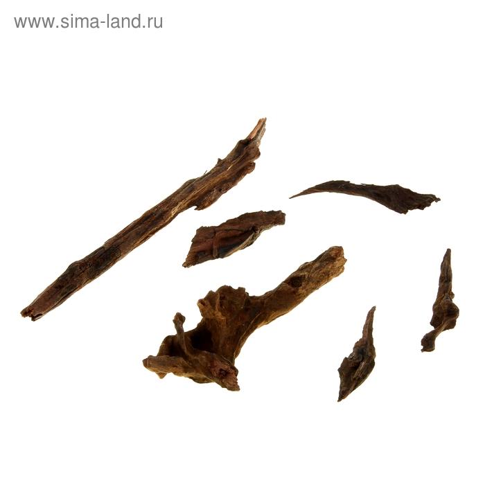 Набор для декора из натуральных мини-коряг UDeco Chinese Driftwood XXXS, размер 5-10 см