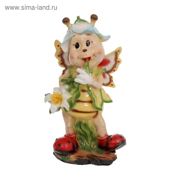 """Садовая фигура """"Девочка-пчёлка"""" большая"""