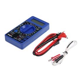 Мультиметр TUNDRA basic, DT-838, ACV 200-750V, DCV 0.2-1000V, 0.2мА-200мА, прозвон, TEMP C