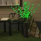 "Светодиодная ваза 80х16 см, ""Цветок сакуры"" 72 LED, 220V, фиксин, ЗЕЛЕНЫЙ"
